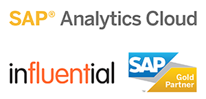 SAP Analytics Cloud - Influential Software Gold Partner