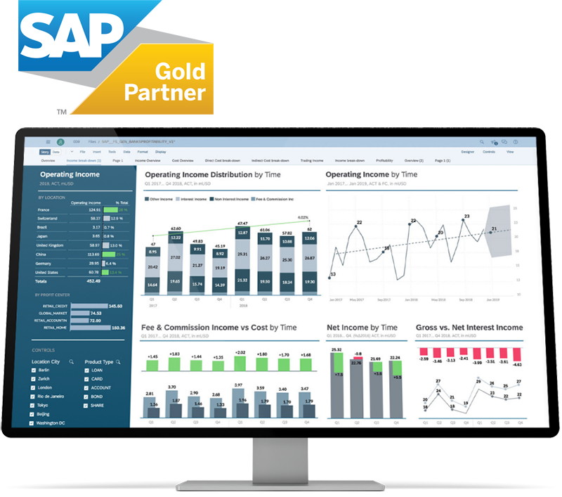 SAP Cloud Analytics Services UK
