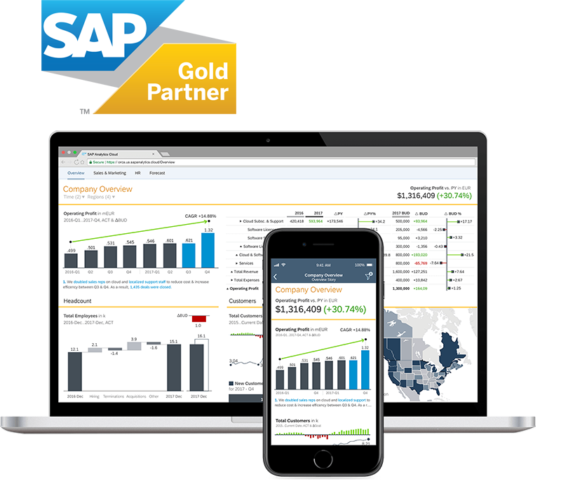 SAP Analytics Cloud Business Intelligence Services - Influential Software UK